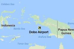Dobo Airport Location Map
